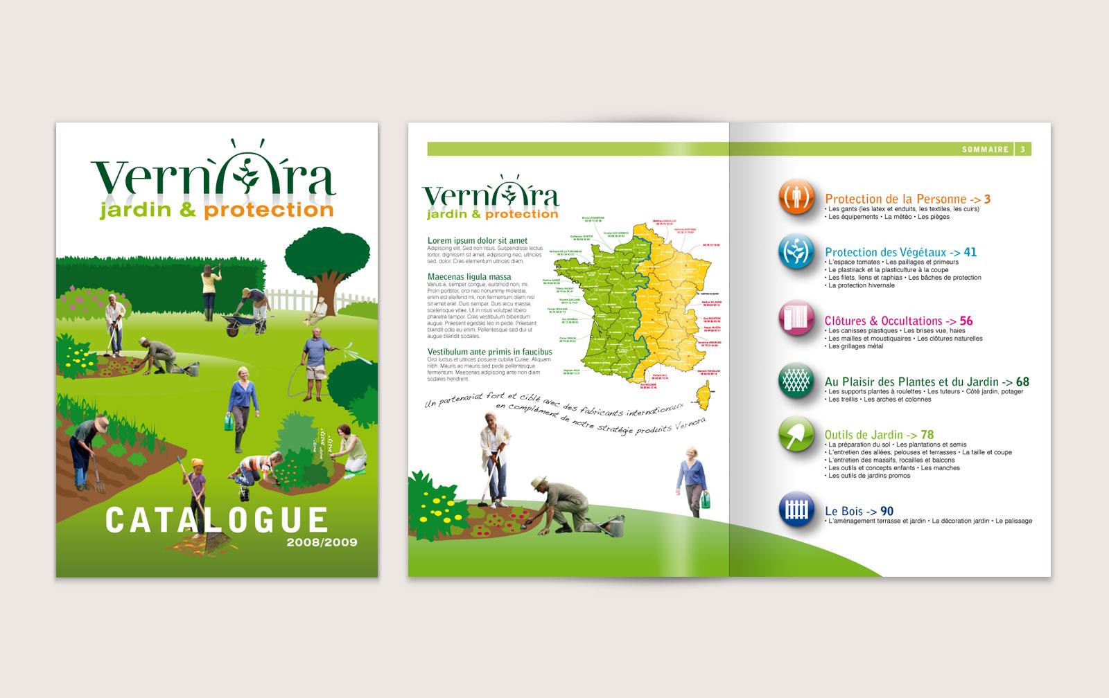 Pierre lepec design graphique catalogue for Catalogue de jardinage